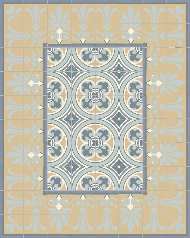 Floor tiles Floor Tiles multi-coloured Layouts and patterns SF 303 O oben