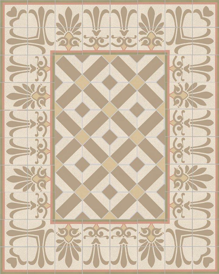 Floor tiles Floor Tiles multi-coloured Layouts and patterns SF 304 P unten