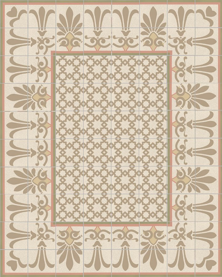 Floor tiles Floor Tiles multi-coloured Layouts and patterns SF 303 P e unten