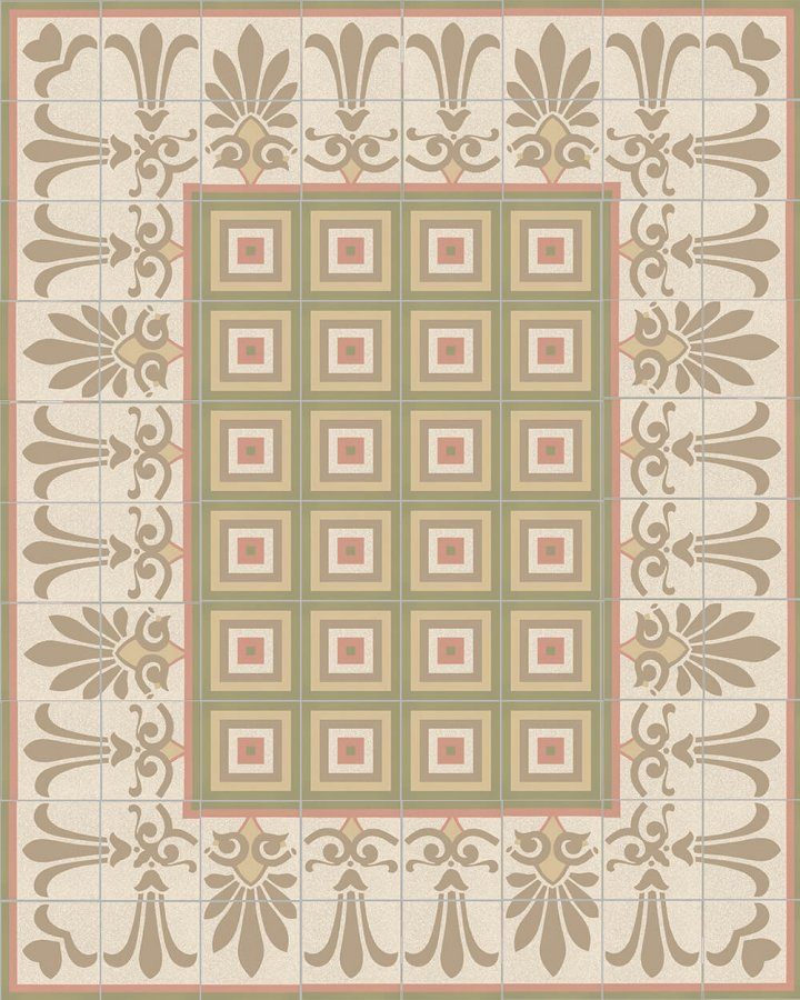 Floor tiles Floor Tiles multi-coloured Layouts and patterns SF 303 P unten