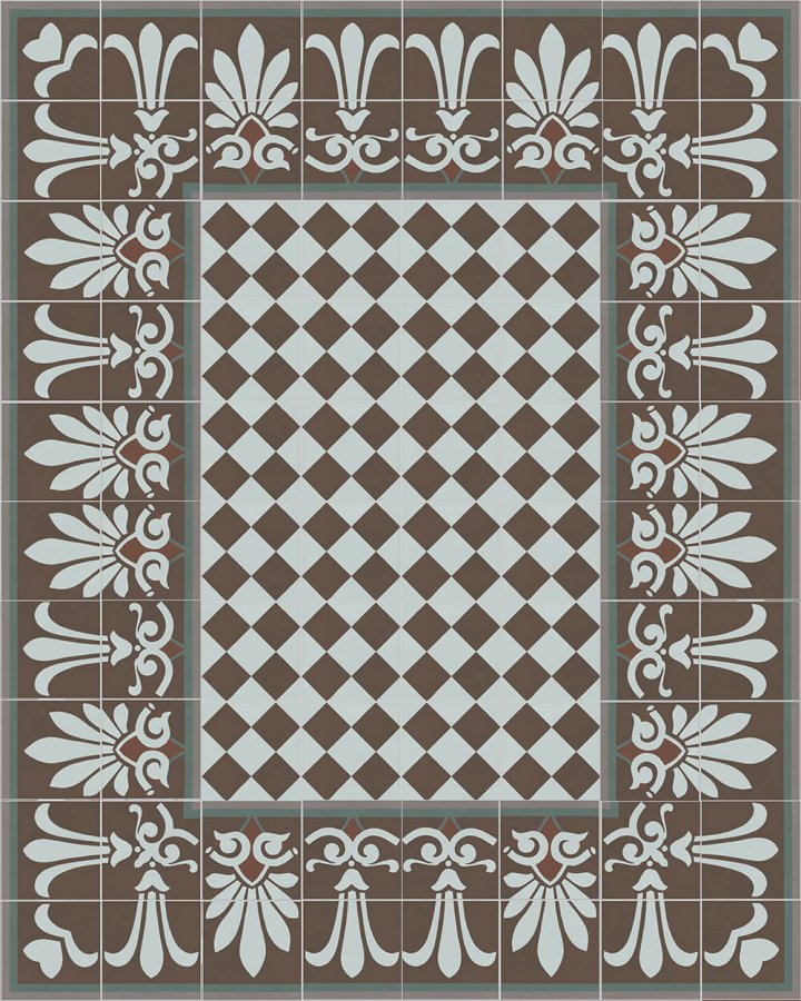 Floor tiles Floor Tiles multi-coloured Layouts and patterns SF 304 R unten