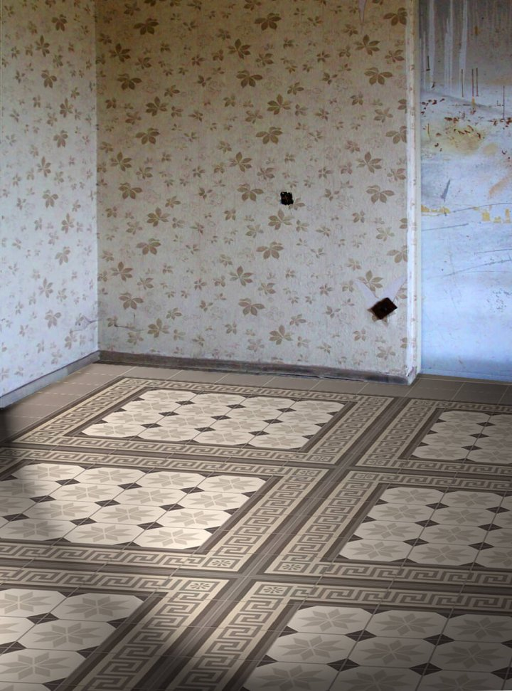 Floor tiles Floor Tiles multi-coloured Layouts and patterns SF 308 E