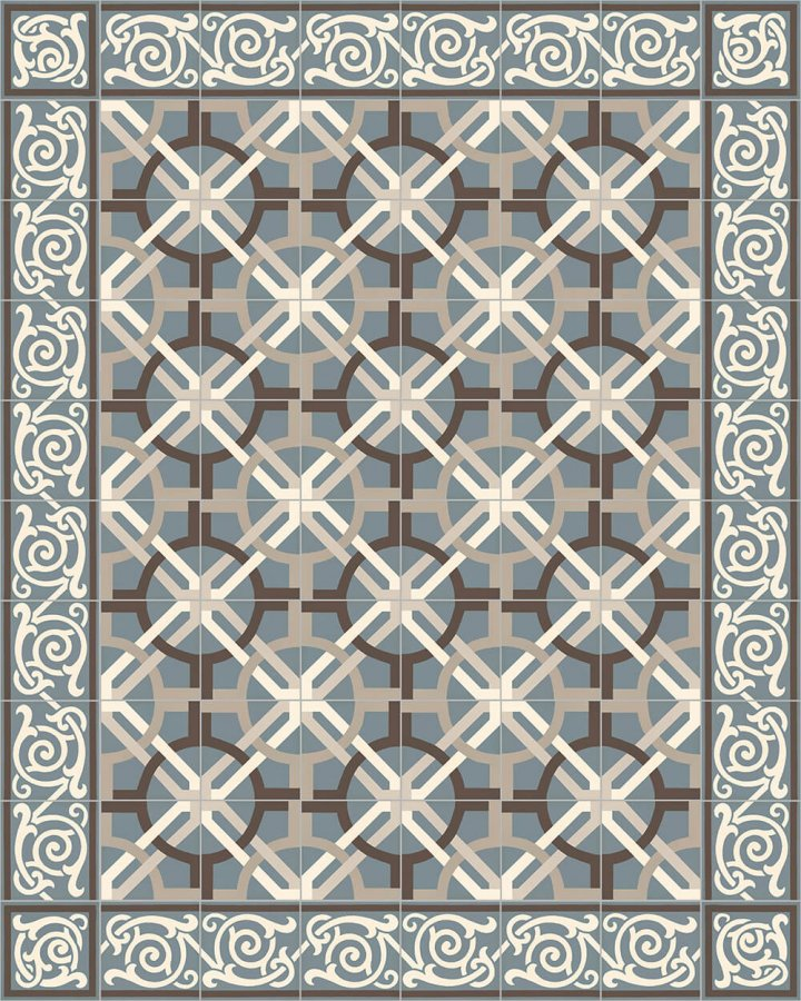 Floor tiles Floor Tiles multi-coloured Layouts and patterns SF 333 A e