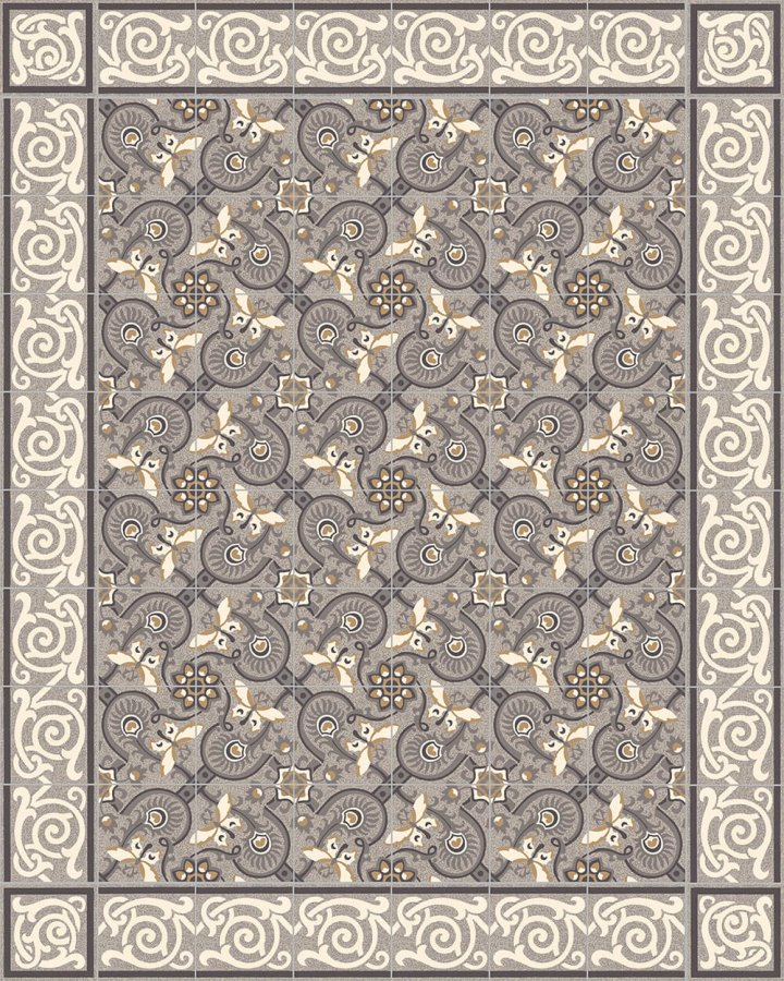 Floor tiles Floor Tiles multi-coloured Layouts and patterns SF 333 C e