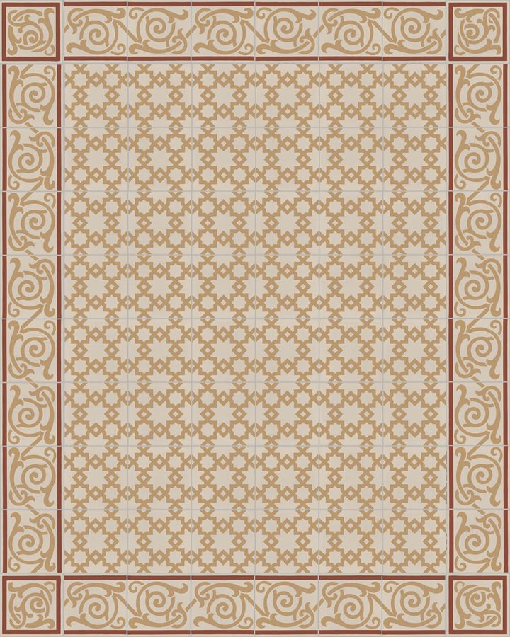 Floor tiles Floor Tiles multi-coloured Layouts and patterns SF 258 D