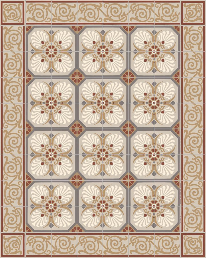 Floor tiles Floor Tiles multi-coloured Layouts and patterns SF 333 D e