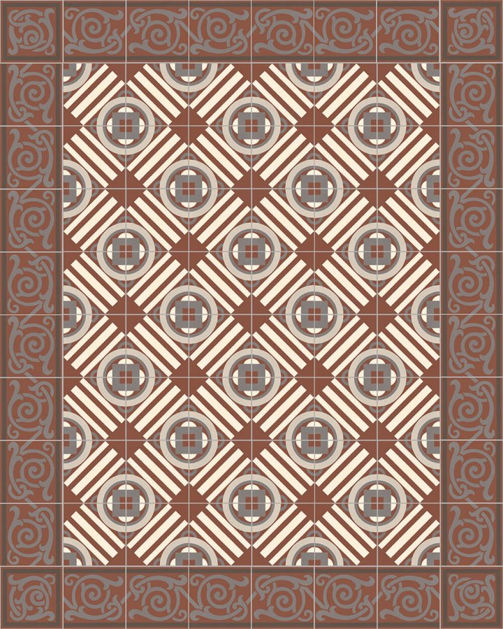 Floor tiles Floor Tiles multi-coloured Layouts and patterns SF 333 F
