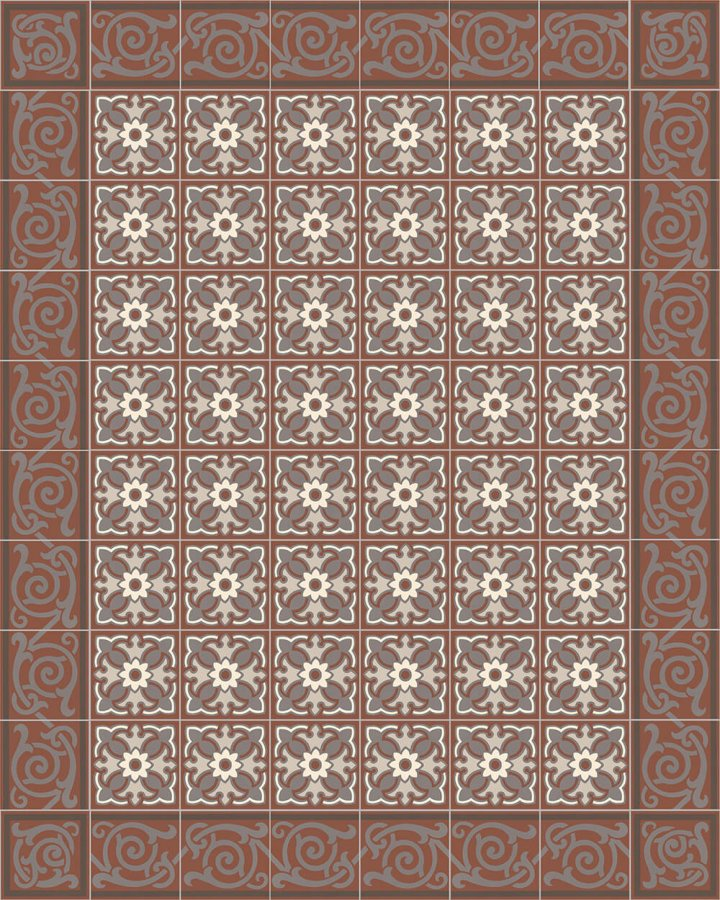 Floor tiles Floor Tiles multi-coloured Layouts and patterns SF 333 F e