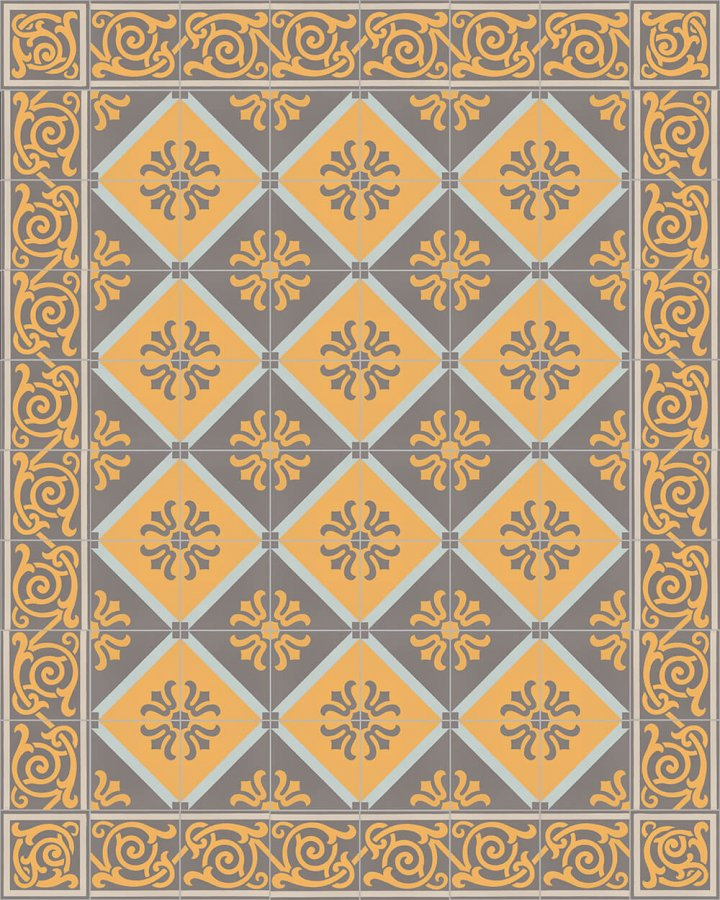 Floor tiles Floor Tiles multi-coloured Layouts and patterns SF 333 H