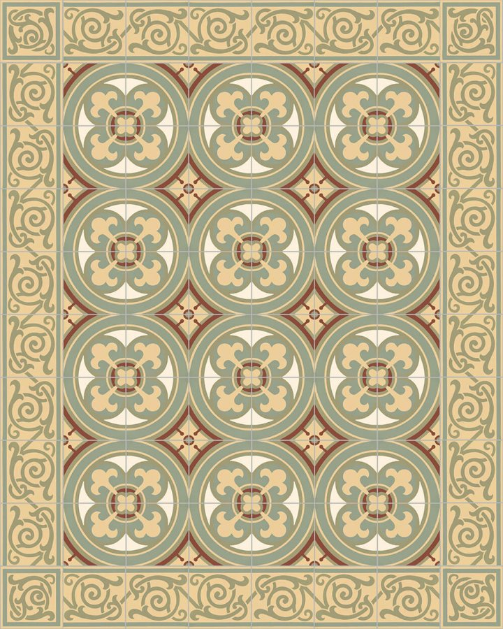 Floor tiles Floor Tiles multi-coloured Layouts and patterns SF 333 I