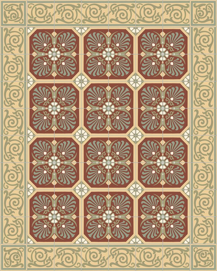Floor tiles Floor Tiles multi-coloured Layouts and patterns SF 333 I e