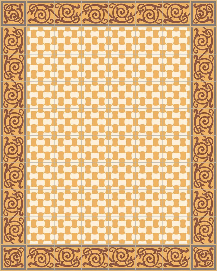Floor tiles Floor Tiles multi-coloured Layouts and patterns SF 259 K