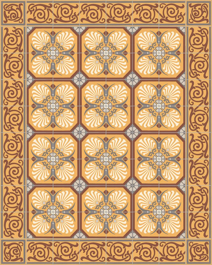 Floor tiles Floor Tiles multi-coloured Layouts and patterns SF 333 K