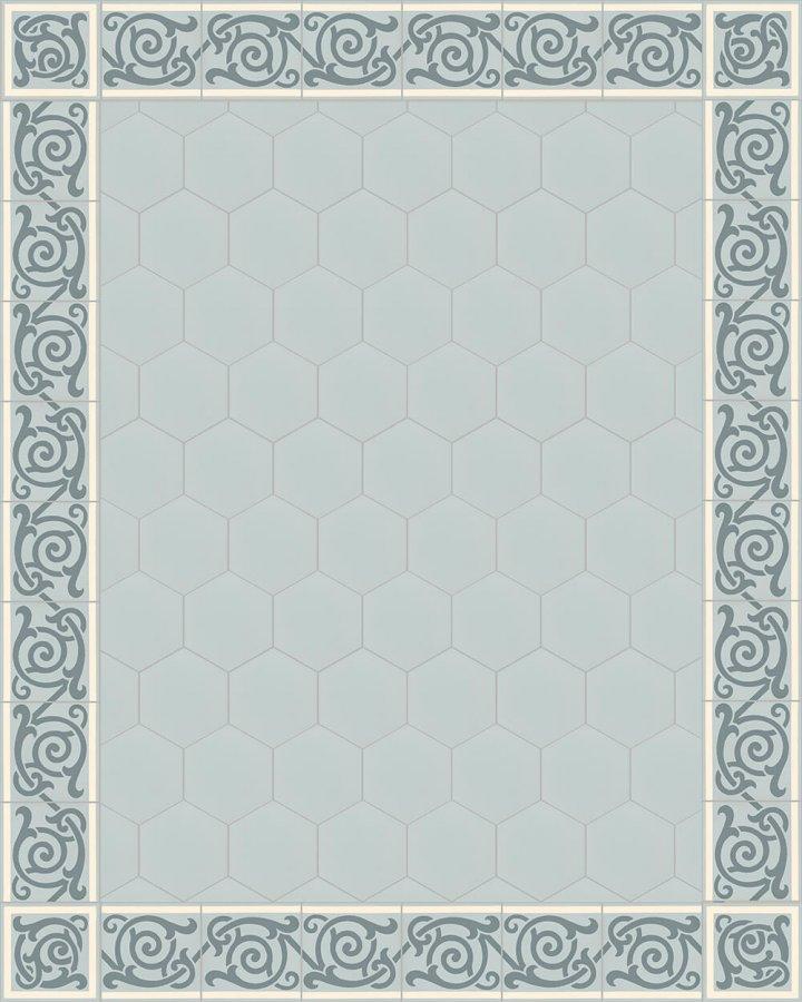 Carreaux pour sol Carreaux hexagonal Carreaux hexagonal SF 17.14 S