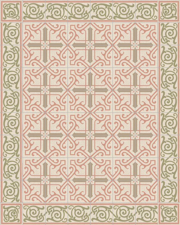 Floor tiles Floor Tiles multi-coloured Layouts and patterns SF 325 P