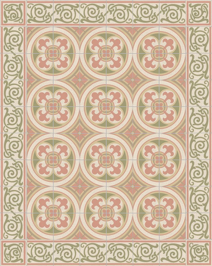 Floor tiles Floor Tiles multi-coloured Layouts and patterns SF 333 P e