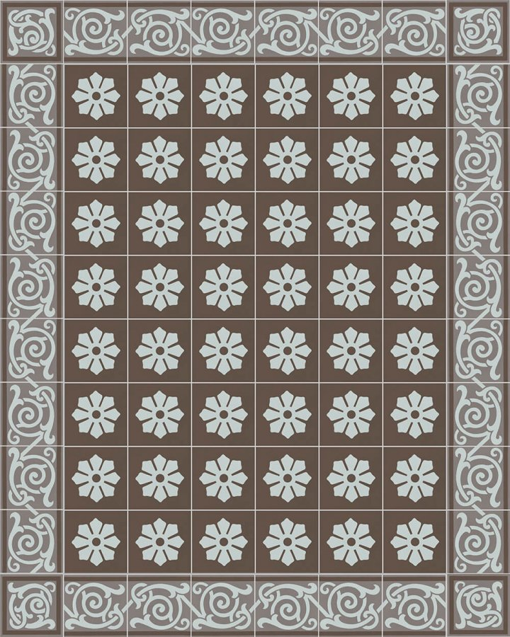 Floor tiles Floor Tiles multi-coloured Layouts and patterns SF 333 R