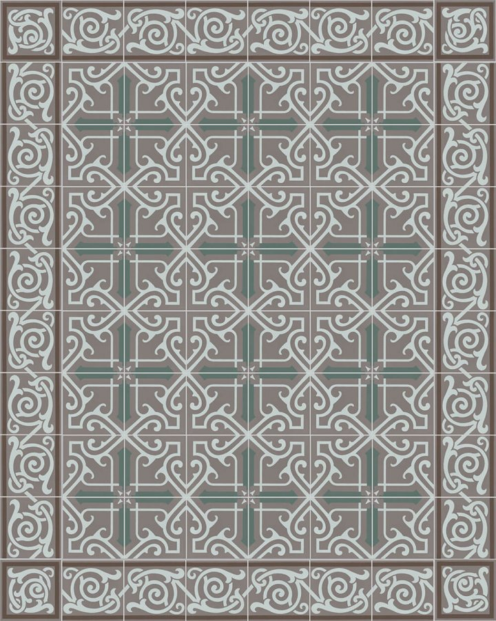Floor tiles Floor Tiles multi-coloured Layouts and patterns SF 333 R e