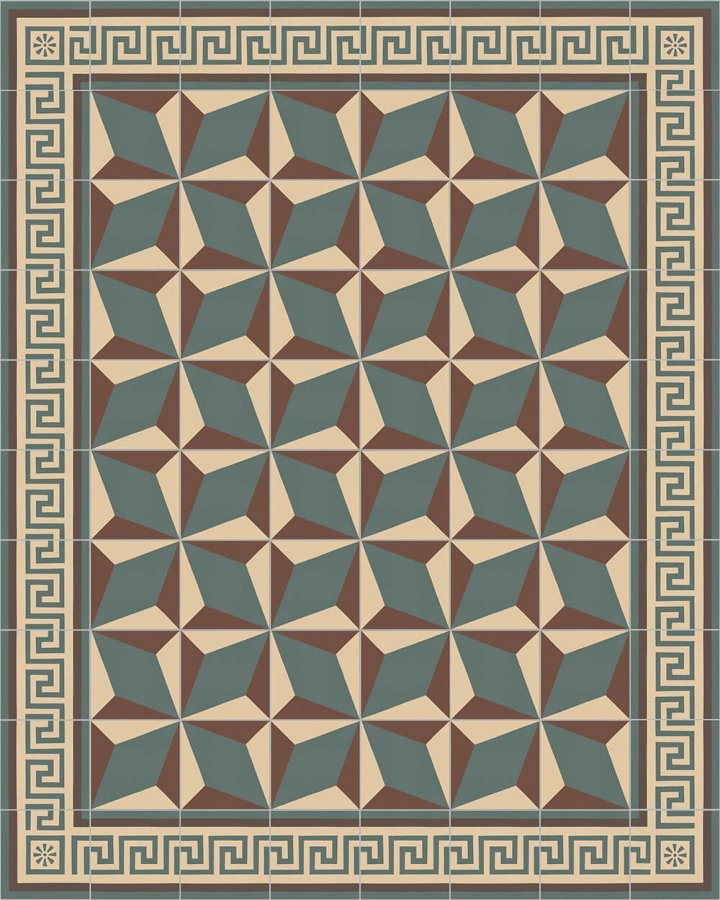Floor tiles Floor Tiles multi-coloured Layouts and patterns SF 357 B e