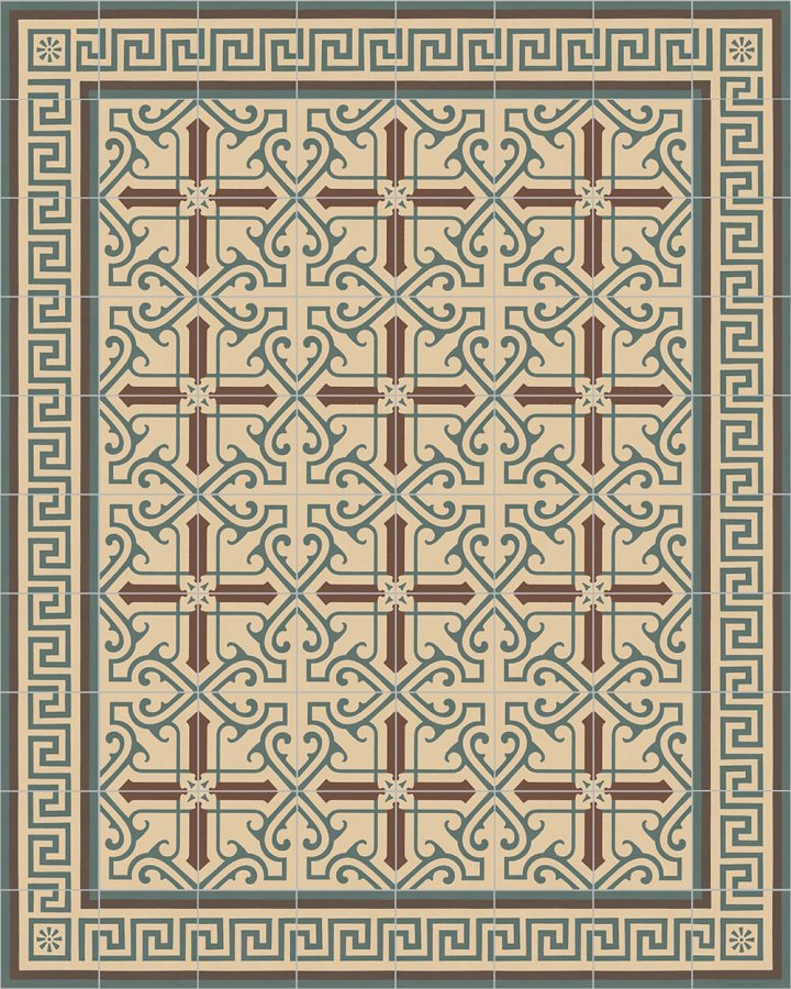 Floor tiles Floor Tiles multi-coloured Layouts and patterns SF 325 B