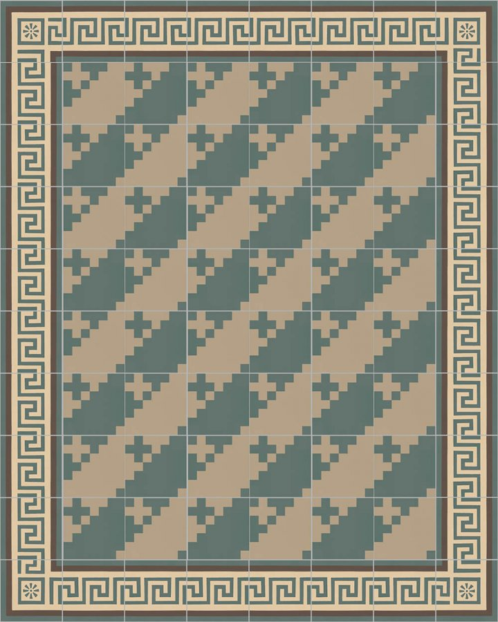 Floor tiles Floor Tiles multi-coloured Layouts and patterns SFTG 7201 B a