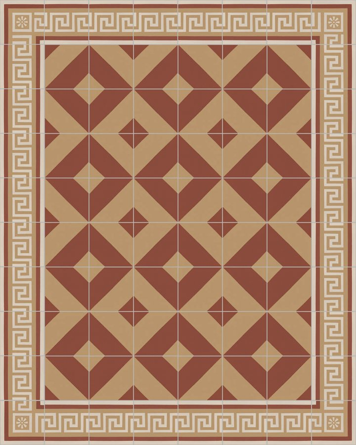Floor tiles Floor Tiles multi-coloured Layouts and patterns SF 209 D