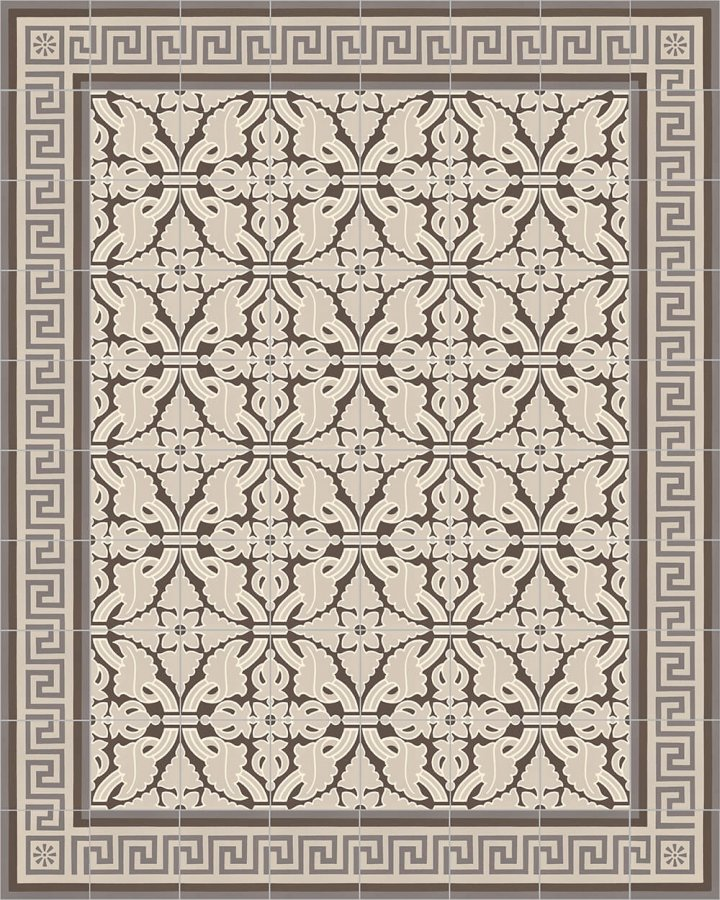 Floor tiles Floor Tiles multi-coloured Layouts and patterns SF 357 E e
