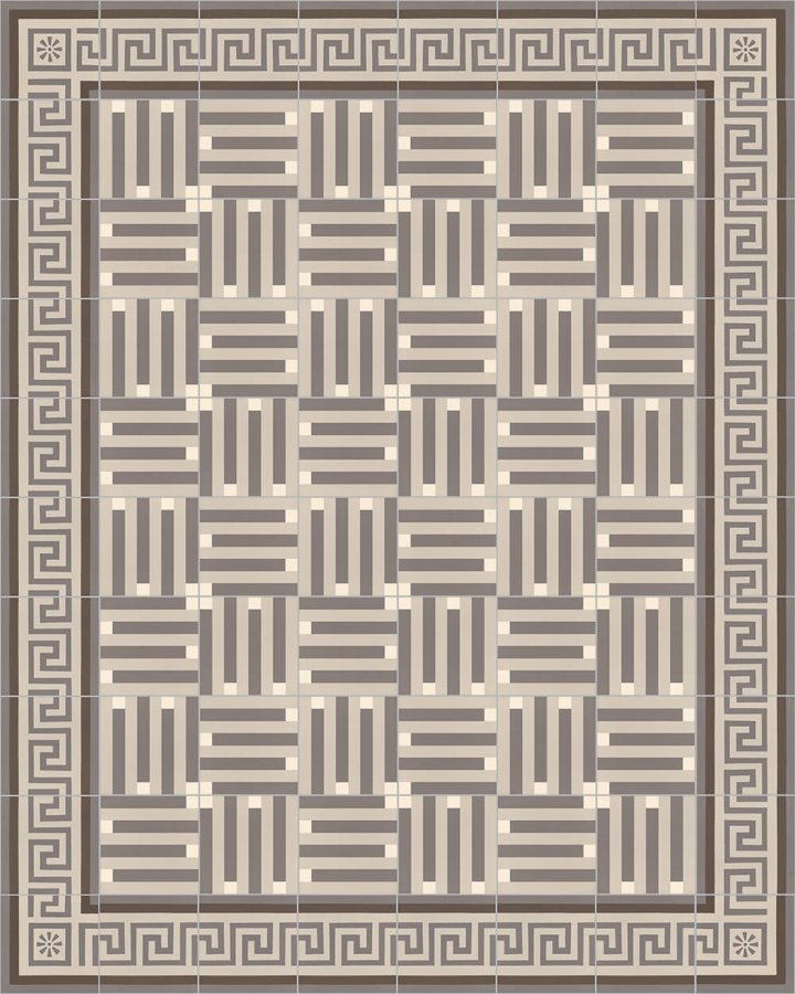 Floor tiles Floor Tiles multi-coloured Layouts and patterns SFTG 8301 E