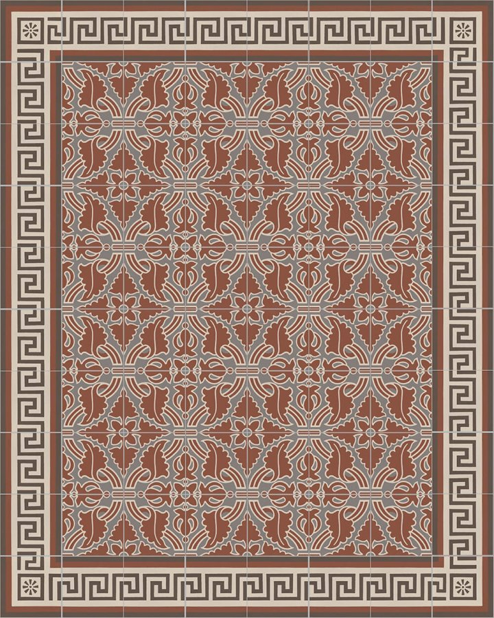 Floor tiles Floor Tiles multi-coloured Layouts and patterns SF 357 F