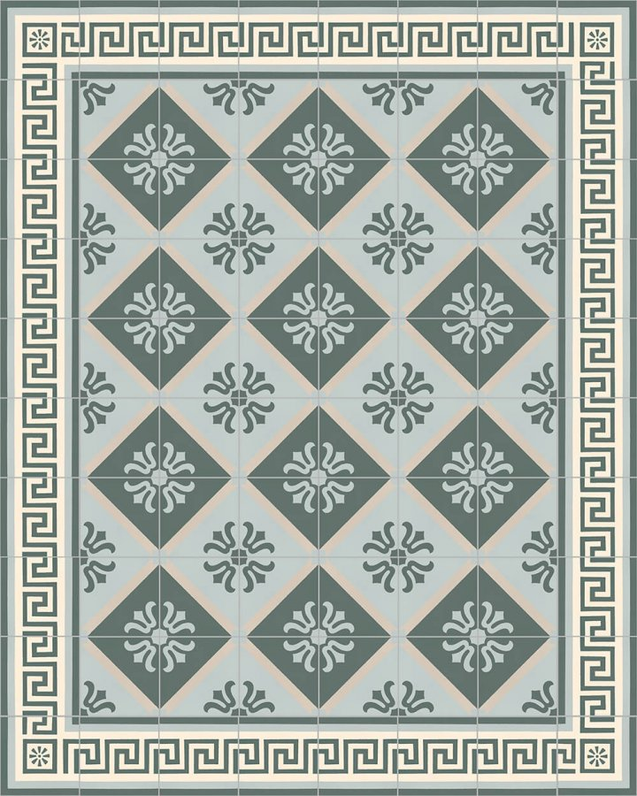 Floor tiles Floor Tiles multi-coloured Layouts and patterns SF 357 G