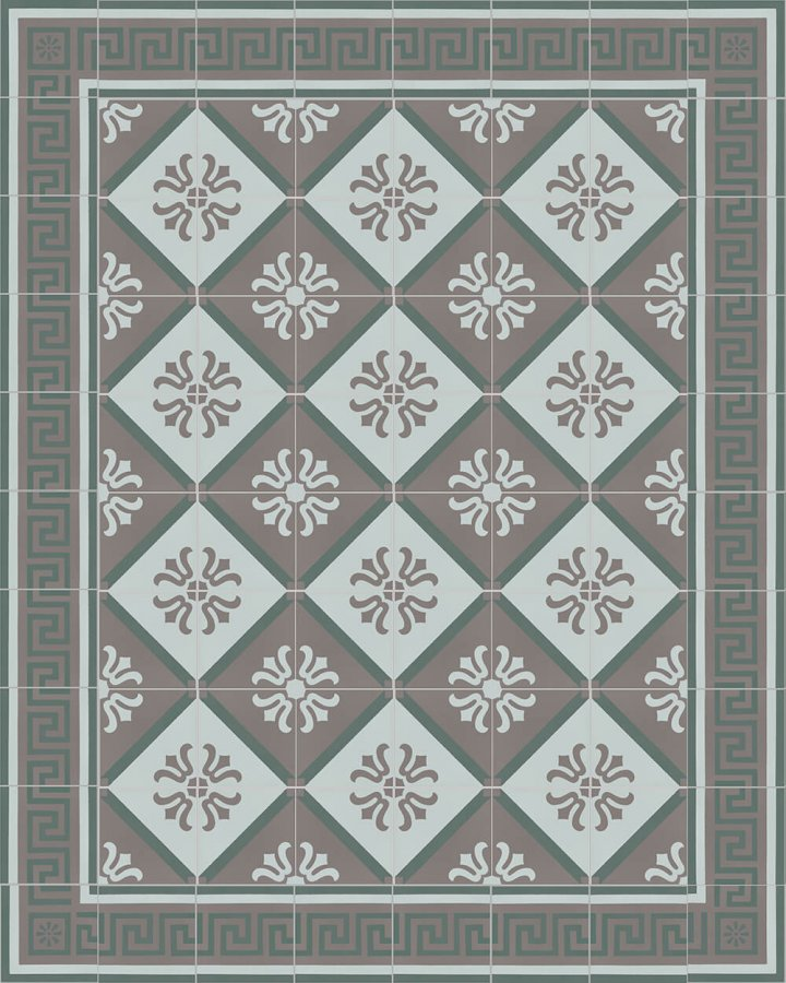 Floor tiles Floor Tiles multi-coloured Layouts and patterns SF 357 R
