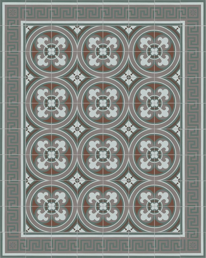 Floor tiles Floor Tiles multi-coloured Layouts and patterns SF 357 R e