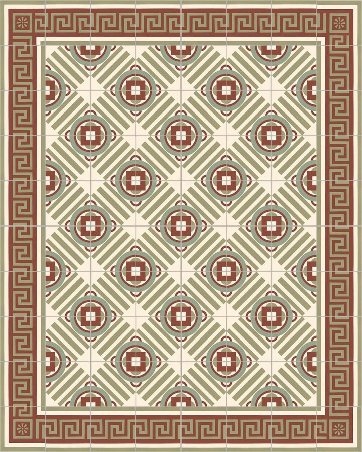 Floor tiles Floor Tiles multi-coloured Layouts and patterns SF 410 I