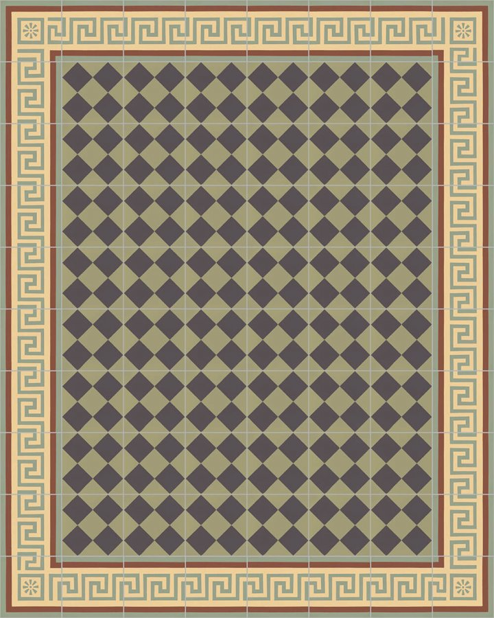 Floor tiles Floor Tiles multi-coloured Layouts and patterns SF 357 J