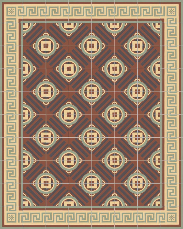 Floor tiles Floor Tiles multi-coloured Layouts and patterns SF 410 J