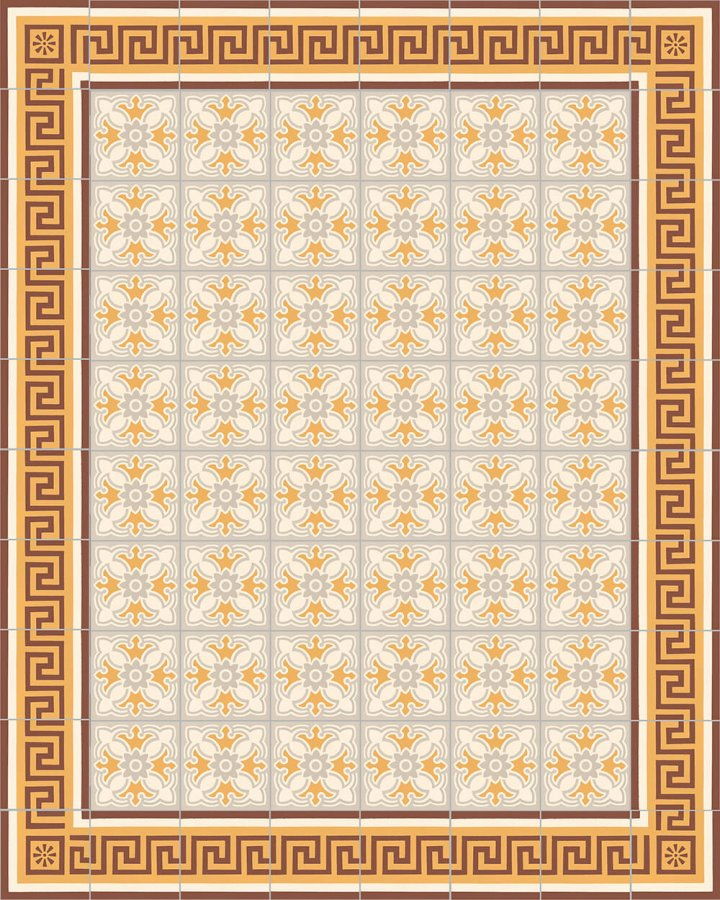 Floor tiles Floor Tiles multi-coloured Layouts and patterns SF 420 K