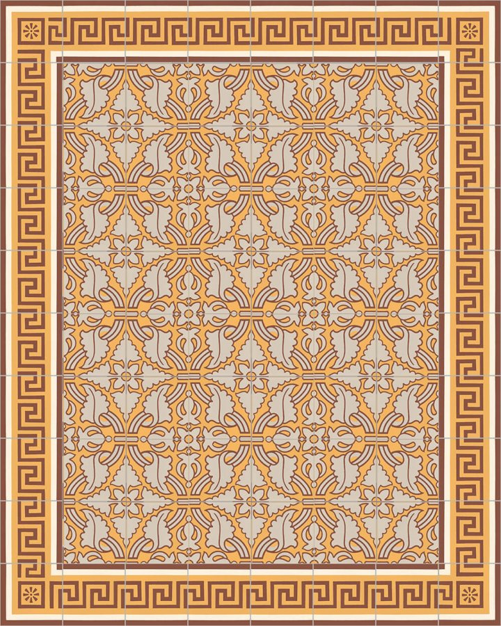 Floor tiles Floor Tiles multi-coloured Layouts and patterns SF 331 K l