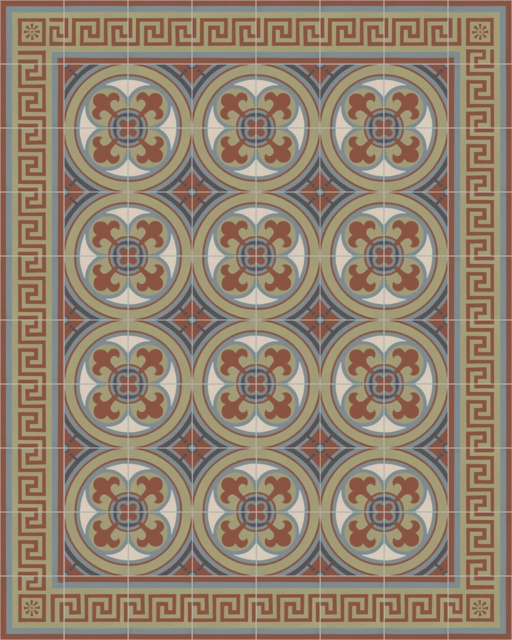 Floor tiles Floor Tiles multi-coloured Layouts and patterns SF 357 L