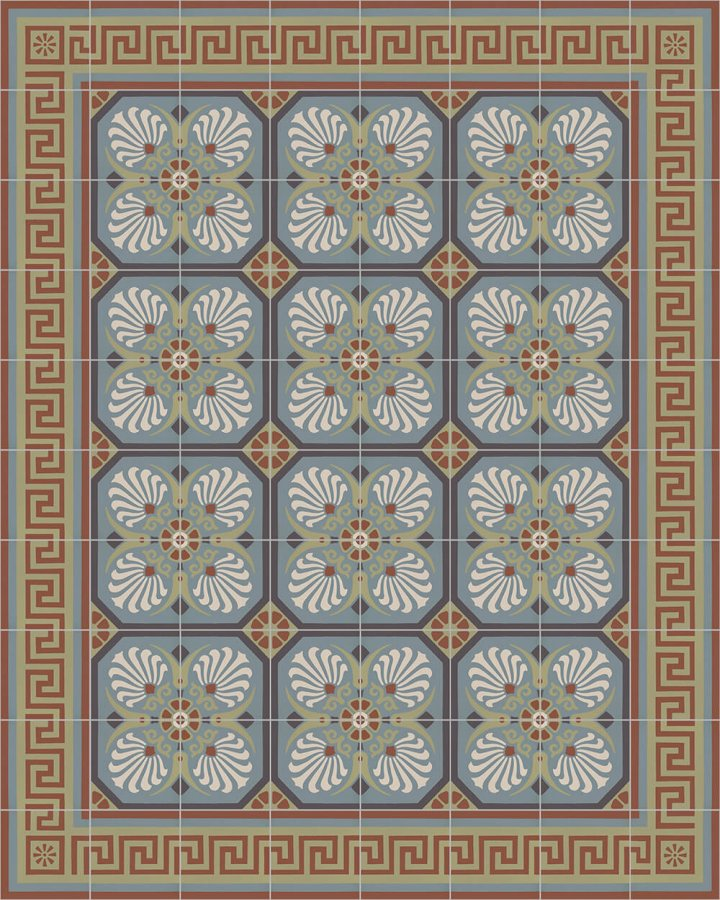 Floor tiles Floor Tiles multi-coloured Layouts and patterns SF 558 L