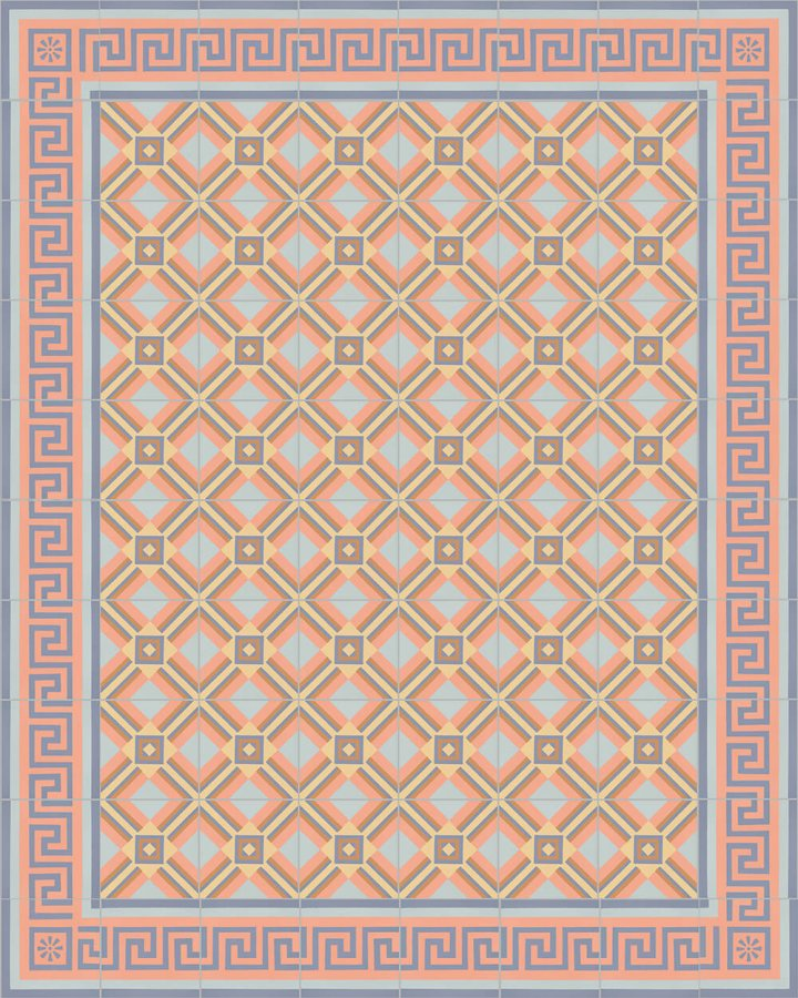 Floor tiles Floor Tiles multi-coloured Layouts and pattern SF 559 N