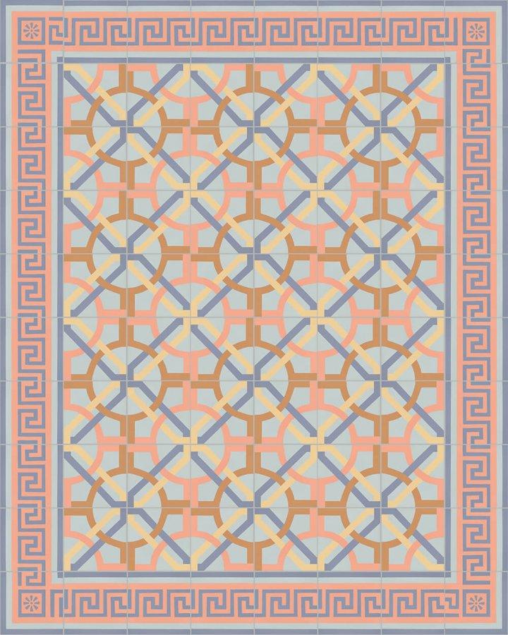 Floor tiles Floor Tiles multi-coloured Layouts and pattern SF 357 N