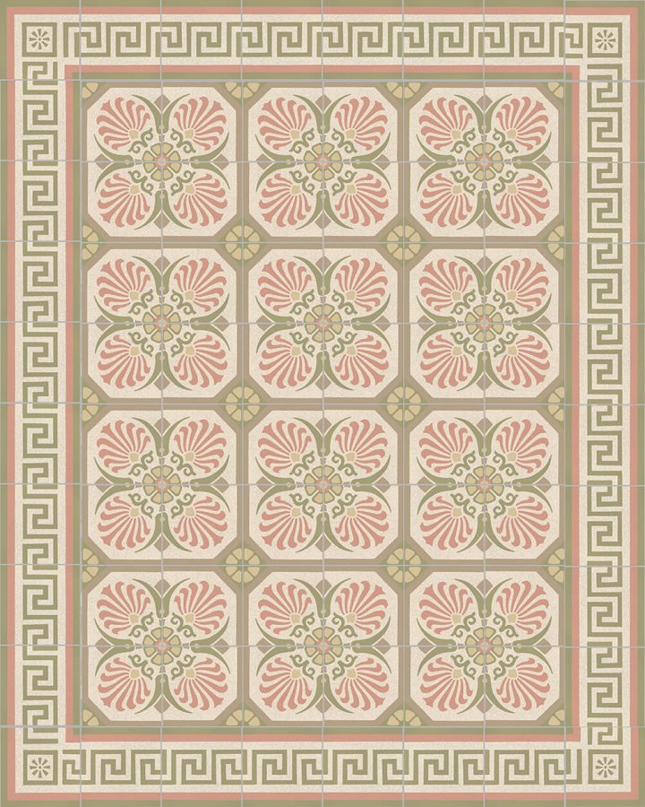 Floor tiles Floor Tiles multi-coloured Layouts and patterns SF 357 P e