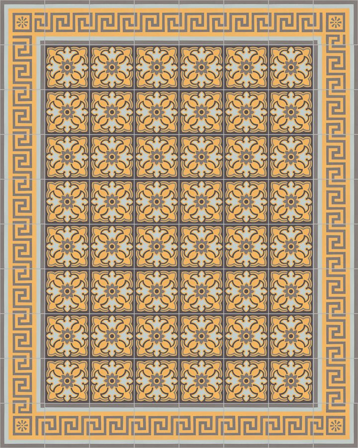 Floor tiles Floor Tiles multi-coloured Layouts and patterns SF 420 H
