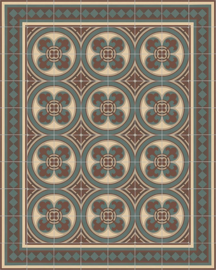 Floor tiles Floor Tiles multi-coloured Layouts and patterns SF 401 B