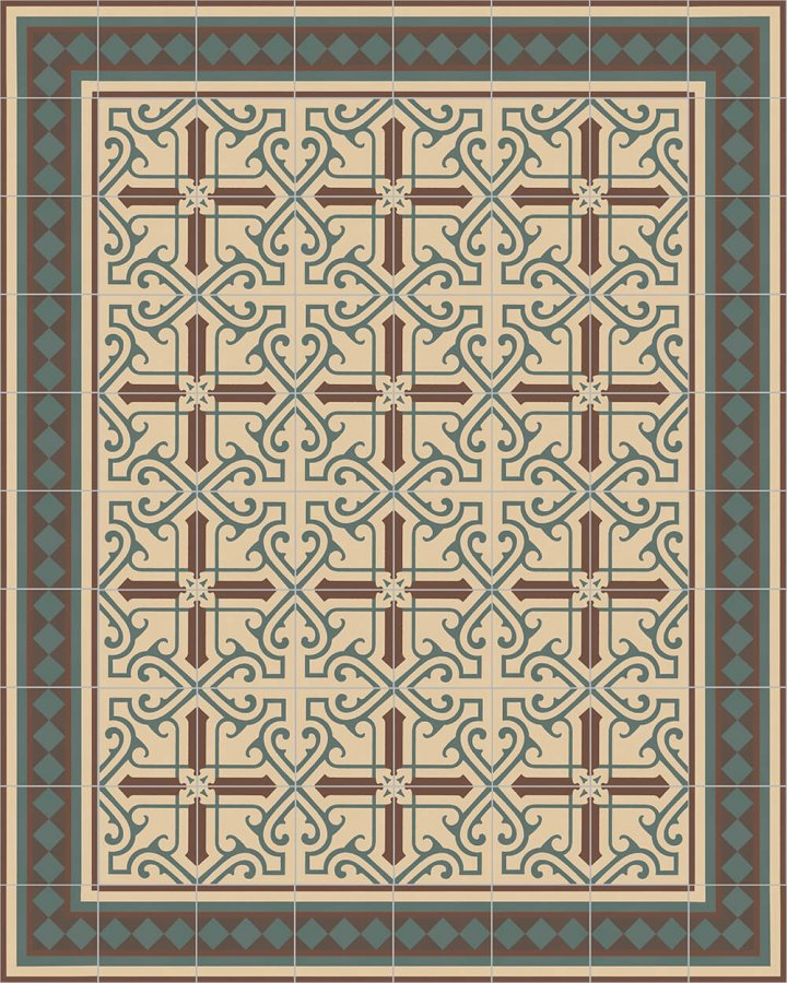 Floor tiles Floor Tiles multi-coloured Layouts and patterns SF 401 B e