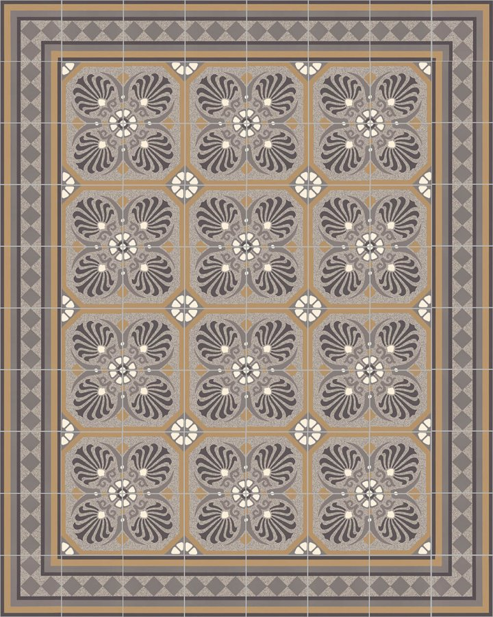 Floor tiles Floor Tiles multi-coloured Layouts and patterns SF 401 C e
