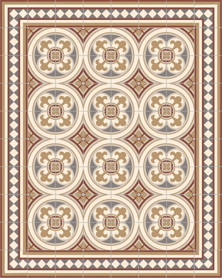 Floor tiles Floor Tiles multi-coloured Layouts and patterns SF 401 D e