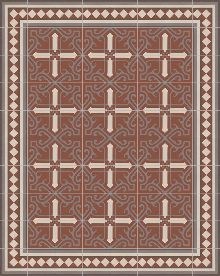 Floor tiles Floor Tiles multi-coloured Layouts and patterns SF 401 F