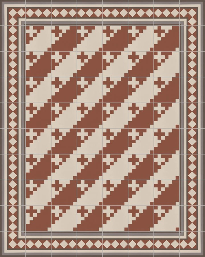 Floor tiles Floor Tiles multi-coloured Layouts and patterns SF 401 F e