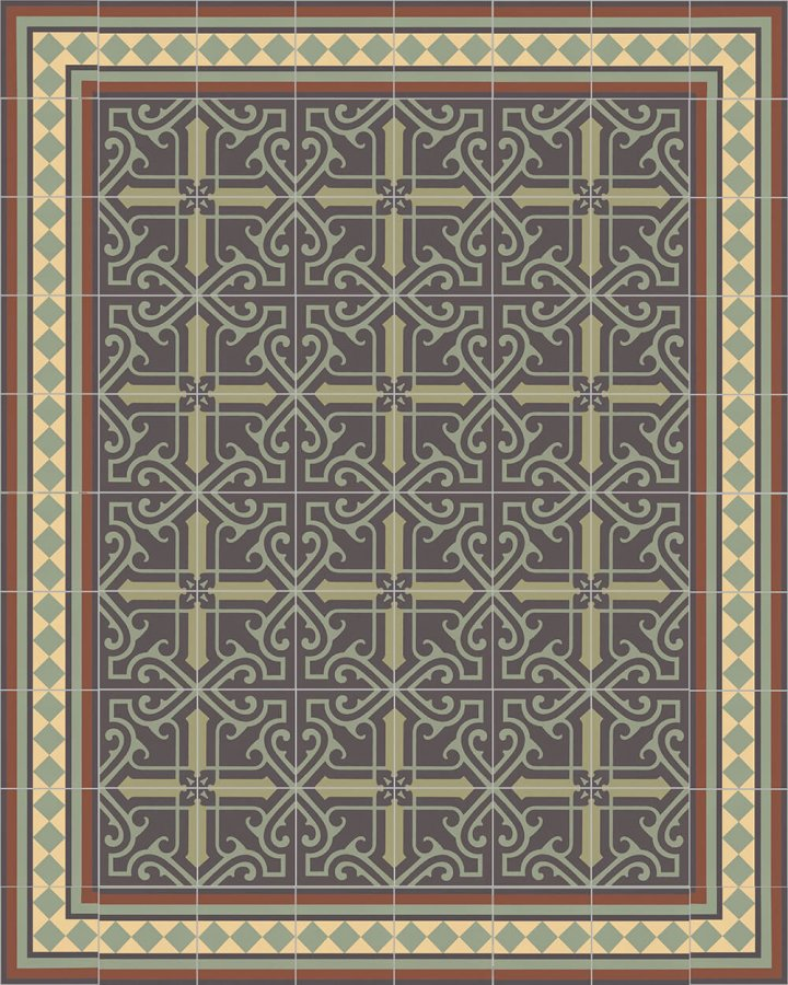 Floor tiles Floor Tiles multi-coloured Layouts and patterns SF 401 J
